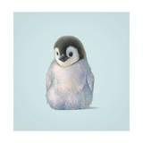 Penguin Giclée-tryk af John Butler Art