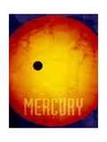 The Planet Mercury Photographic Print by Michael Tompsett