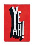 Yeah Giclee Print by Edu Barba
