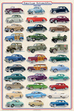 American Autos of 1940-1949 Plakat