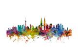 Kuala Lumpur Malaysia Skyline Photographic Print by Michael Tompsett