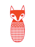Red Fox Giclee Print by Jane Foster