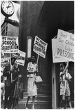 School Segregation Protestors Archival Photo Poster Print Posters