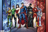 Justice League Dc Comics Poster Planscher