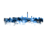 Washington DC Skyline Photographic Print by Michael Tompsett