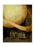 The Planet Saturn Photographic Print by Michael Tompsett
