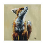 Whats up Wydruk giclee autor Louise Brown