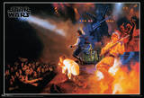 Star Wars Rocks Concert Music Poster Poster