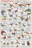 Feathered Dinosaurs 2 - Posterler