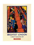 Brightest London Giclee Print by  Transport for London