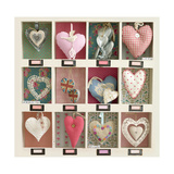 Hearts Collection Giclee Print by Howard Shooter