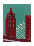 Oxo Giclee Print by Jennie Ing