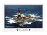 USS Midway - 1945 to 1997 Posters