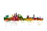 Tampa Florida Skyline Photographic Print by Michael Tompsett
