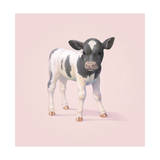 Cow Giclee Print by John Butler Art