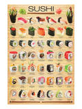 Suşi - Art Print