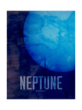 The Planet Neptune Photographic Print by Michael Tompsett