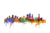 Brisbane Australia Skyline Photographic Print by Michael Tompsett