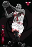 Derrick Rose Chicago Bulls Nba Sports Poster Plakat