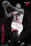 Derrick Rose Chicago Bulls Nba Sports Poster Stampa