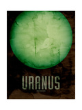 The Planet Uranus Photographic Print by Michael Tompsett