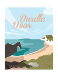 Durdle Door Giclee Print by Adam McNaught-Davis