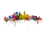Minneapolis Minnesota Skyline Prints by Michael Tompsett