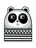 Happy Panda Giclee Print by Jane Foster