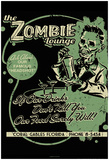Zombie Lounge Poster