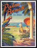 Palm Beach, Florida Mounted Print by Kerne Erickson