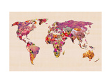 Our Wonderful World Giclee Print by Bianca Green