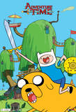 Adventure Time Finn & Jake Television Poster Prints