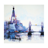 Shard Left Giclee Print by Colin Ruffell