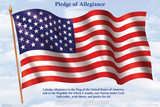 Pledge Of Allegiance Plakater