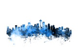 Seattle Washington Skyline Photographic Print by Michael Tompsett
