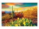 Arizona - Dessert Colors Print