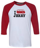 Long Sleeve: Jerry Garcia - I Bus Jerry Jersey T-Shirt