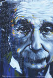 Albert Einstein Artistic Formulas Poster Photo