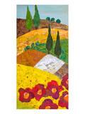 Tuscan Triptych A Prints