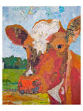 Contented Cattle II Print