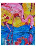 Flamingo I Affiches