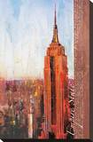 Fifth Avenue and West 34th Street Stretched Canvas Print by Markus Haub
