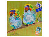 Lovebirds Prints