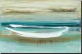 Canoe II Leinwand von Heather Mcalpine