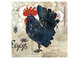 Banty Rooster Print