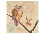 Owl Violet Art