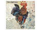 January Rooster Art