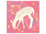 Aprils Flower Fawn Prints