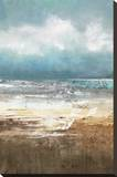 Oceanscape Stretched Canvas Print by Tita Quintero
