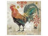 December Rooster Print
